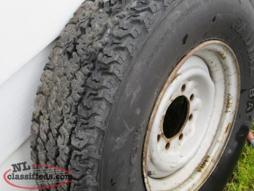 Ford F250 Spare Rims