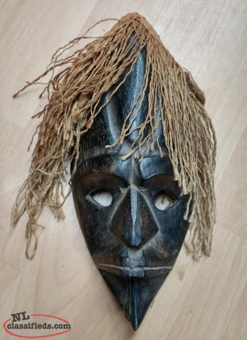 Hanging African Wall Mask