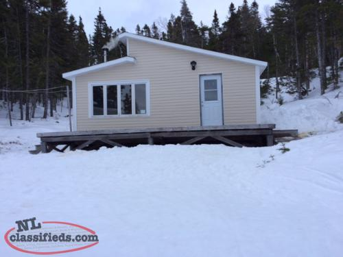 Remote cabin @ Salmon Pond, Port Blandford