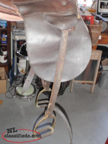 english jumping saddle