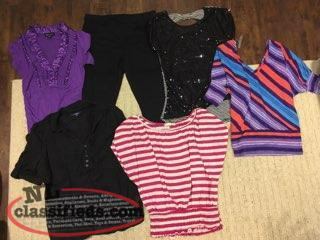 Assorted Clothing $10 Each