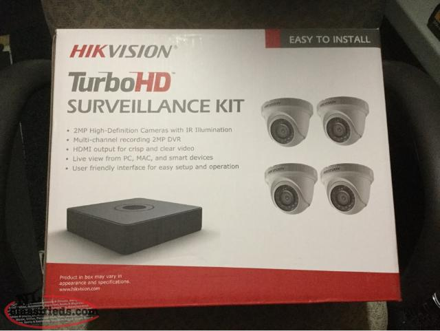 4 Channel HD Cctv System