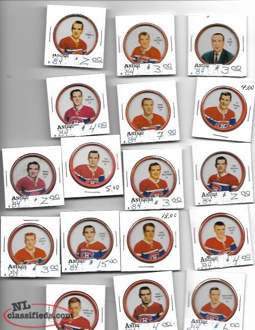1962-63 Montreal Canadiens hockey coins (17)