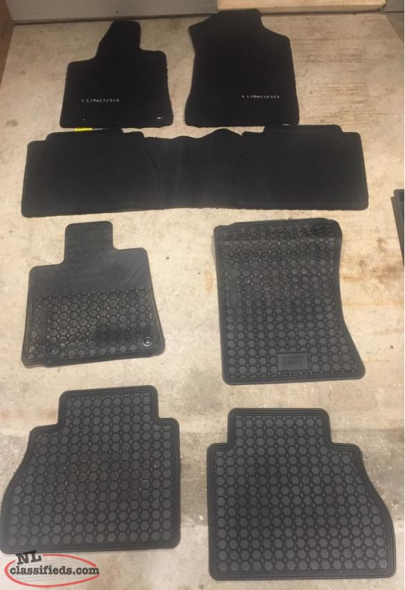 Toyota Tundra Winter & Summer Floor Mats