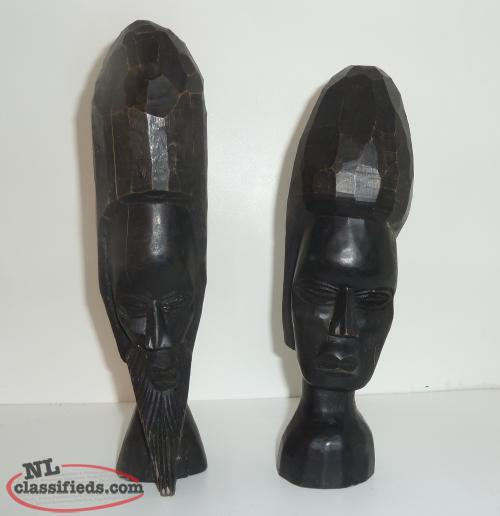 Wood Hand Carved Figures