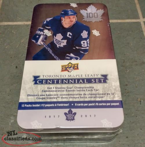 "Centennial ""Toronto Maple Leaf"" Hockey Card Box"