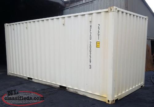 Wanted - Used Sea Can Container
