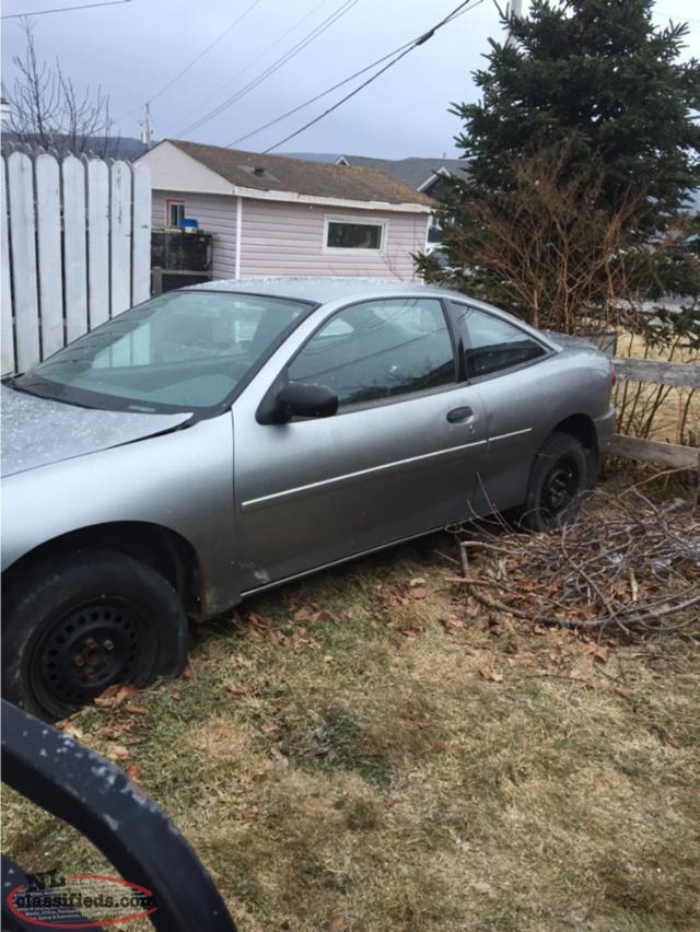 2004 Chev Cavalier Parts Going Cheap