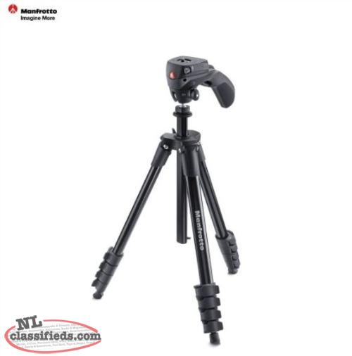 Manfrotto DSLR or Camcorder Tripod