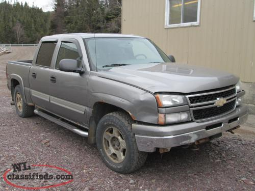 2007 Silverado Classic Parting Out