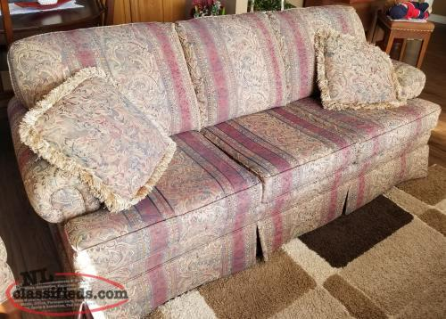 For Sale: 2 Piece Chesterfield/Love Seat