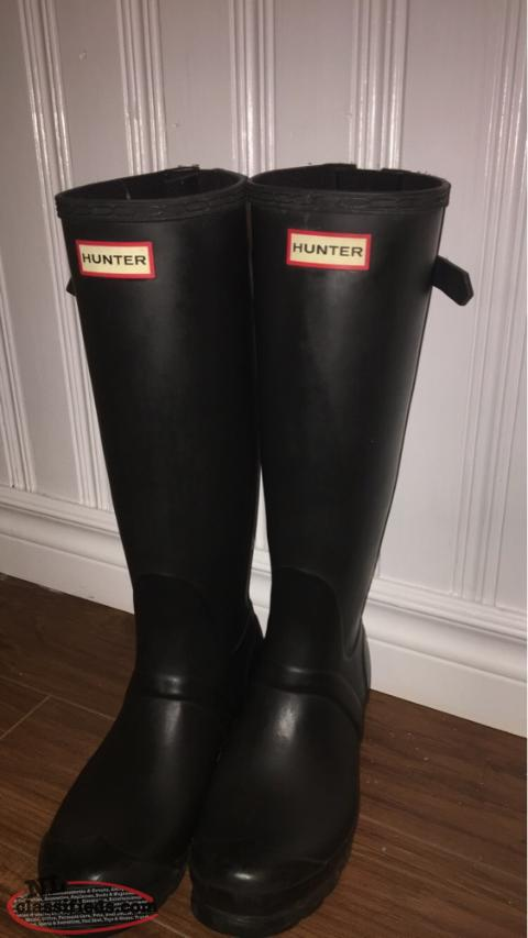 WOMEN'S ORIGINAL TALL CLASSIC BLACK RAIN BOOTS