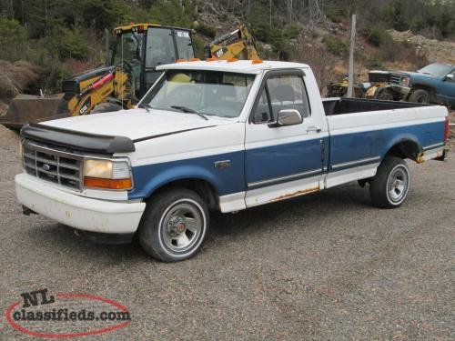 1992 Ford F150 XLT Parting Out