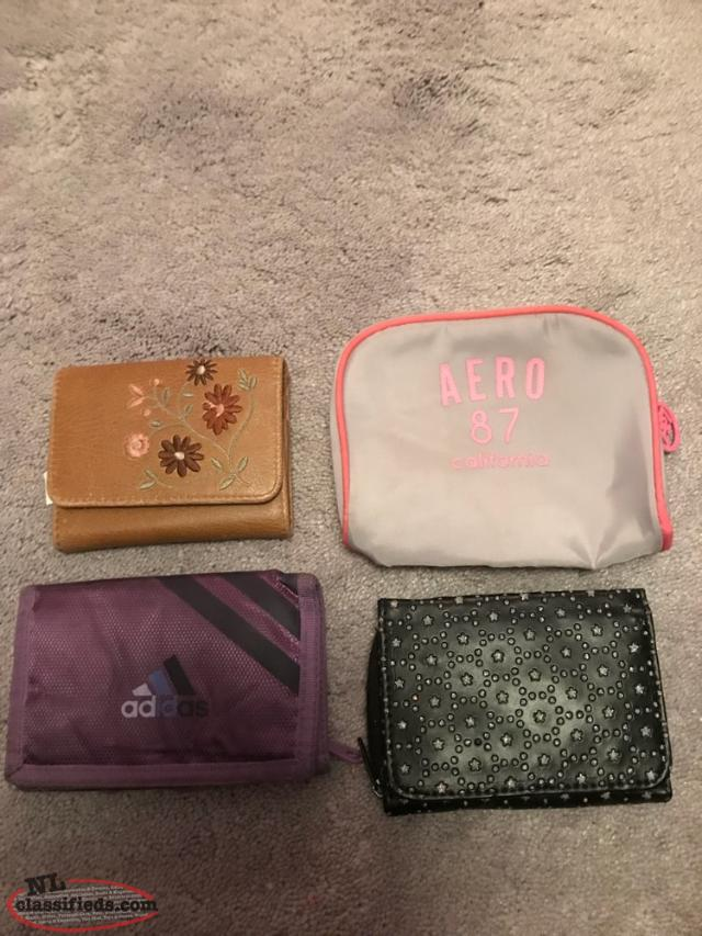 Variety Of Wallets And Change Purses