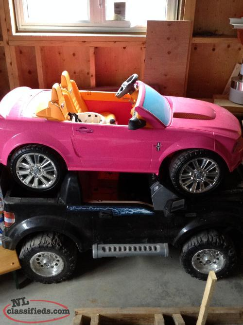 Assortment of kids cars/trucks/tricycles
