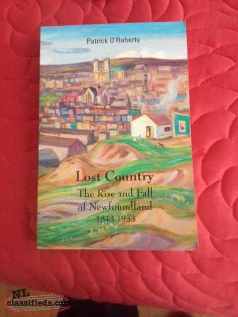 "Rare Book: ""Lost Country: The Rise and Fall of Newfoundland 1843-1933"