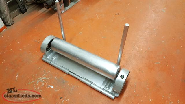 4 Inch Aluminum Gurdy Roller