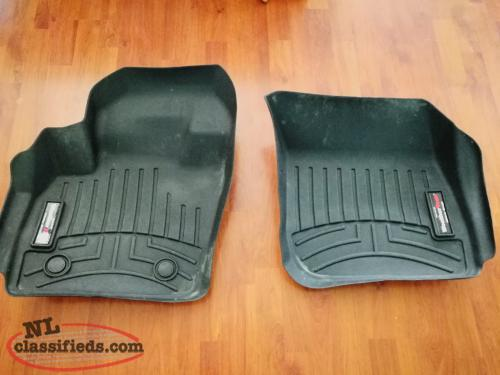Ford Fusion front weather tech mats