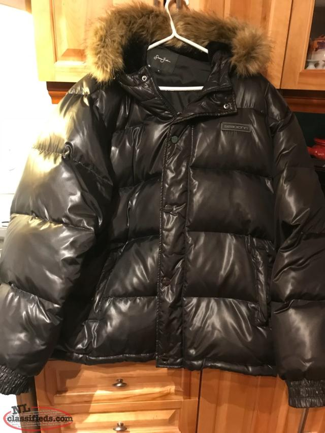 Men's Sean John Puffer Coat Size XL