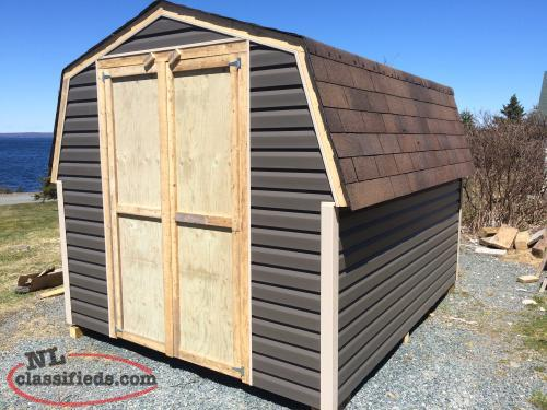 8 x 10 BABY BARNS and SHEDS built on site!