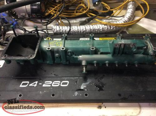Parts for a D4-260 Volvo Penta Diesel Engine