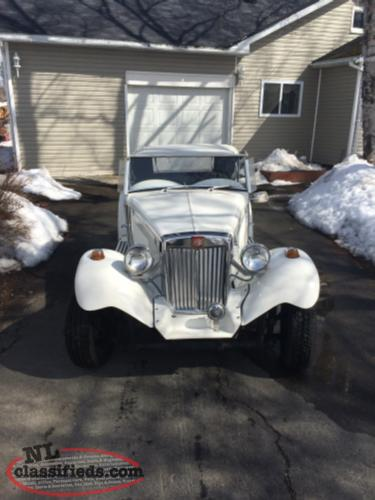 1970 Replica of 1952 MG
