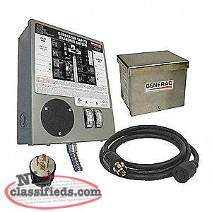 Priced Reduced!!! Generac 6408 Generator Transfer Switch.