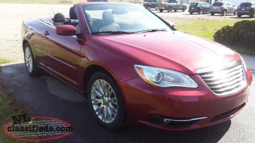 2013 CHRYSLER 200 CONVERTIBLE FOR SALE