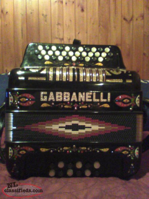 gabbonelli button accordion