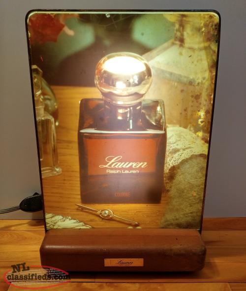 Vintage Ralph Lauren Advertising Light Up Sign