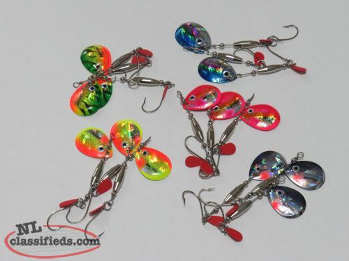 RCS Tackle Co. New Baitfish Image Blade Spinners
