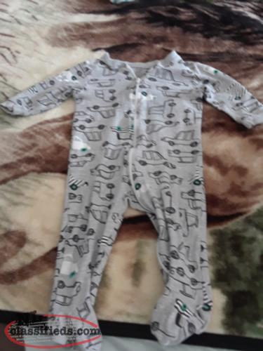 Baby Boy Clothes Size 6-12 months. Coordinates and Sets and a Sleeper