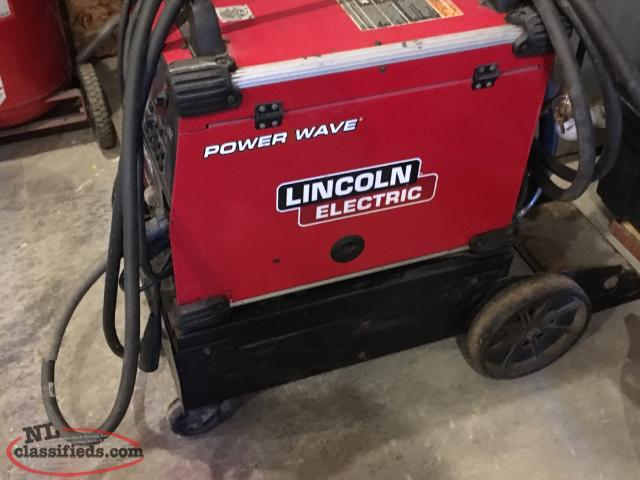 FOR SALE LINCON POWER WAVE 300 Welder