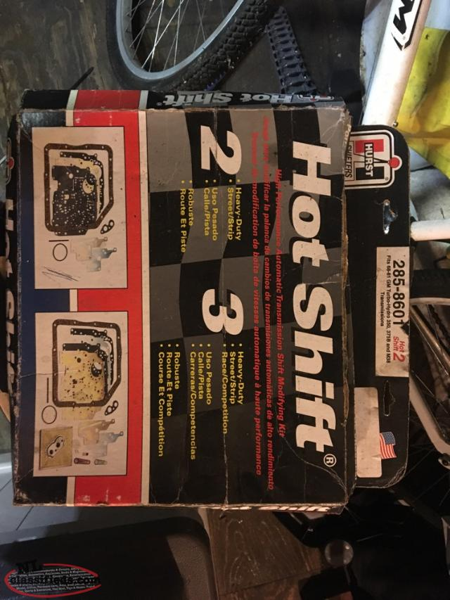 Hurst Shift Kit Brand New Never Used