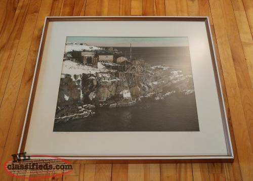 Pouch Cove Signed Framed Photo