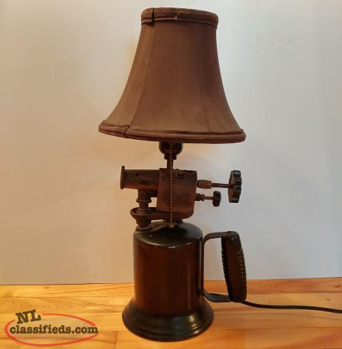 Antique Blow Torch Lamp (One of a Kind!)