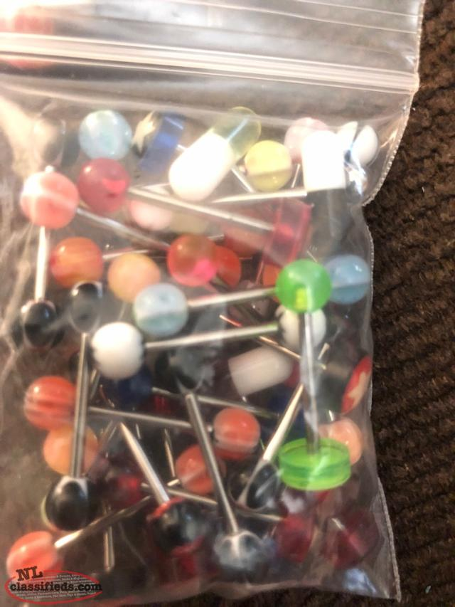 300 Brand New Body Piercings For Sale
