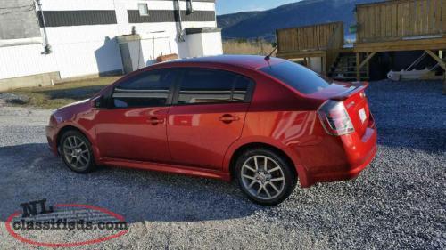 Nissan Sentra SE R Spec V 200 Hp