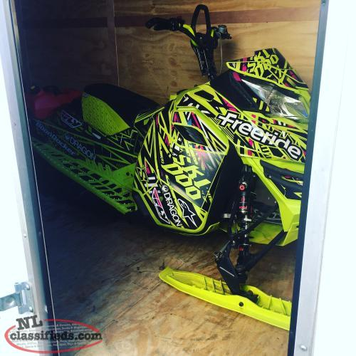 2015 freeride 800 trade for side by side