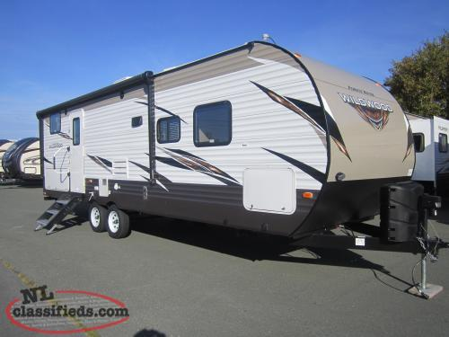 2019 Wildwood 27DBK Trailer with Outside Kitchen Only $125 Biweekly Tax Included