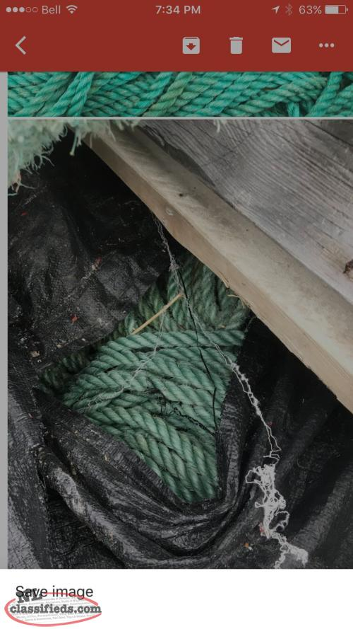 USED POLY ROPE WANTED
