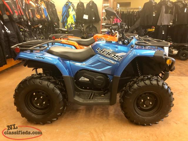 2018 Cf Moto C Force 400 Only $25 Weekly