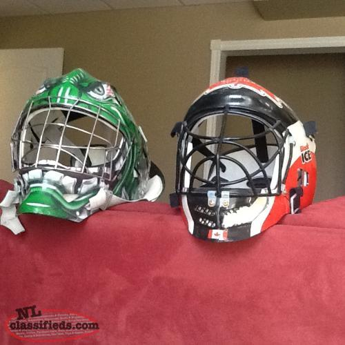 Junior Ball Hockey Goalie Masks
