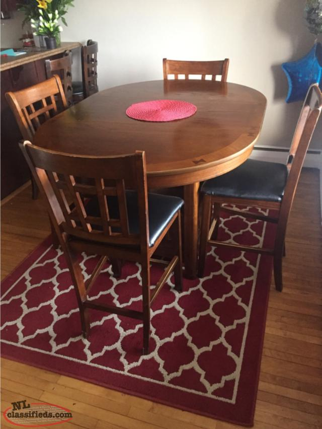 Pub Style Table Set REDUCED $200( NOW $150 )
