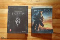 Skyrim and Halo 3 Complete Gaming Guides