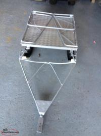 aluminum fold down trailer