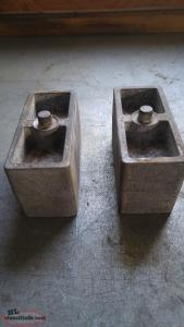 "3"" suspension blocks"