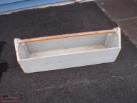 antique carpenter tool box box