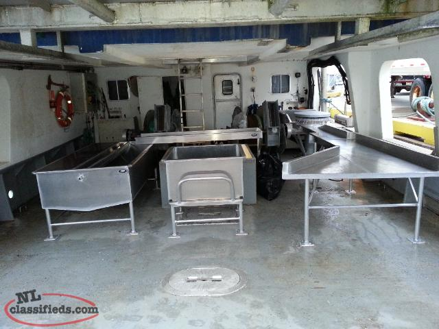 Aluminum Deck and Fishold Equipment