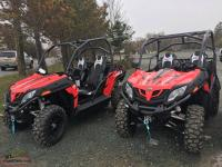 $9595 NEW CFMOTO SIDE X SIDES WITH 5 YEAR WARRANTY